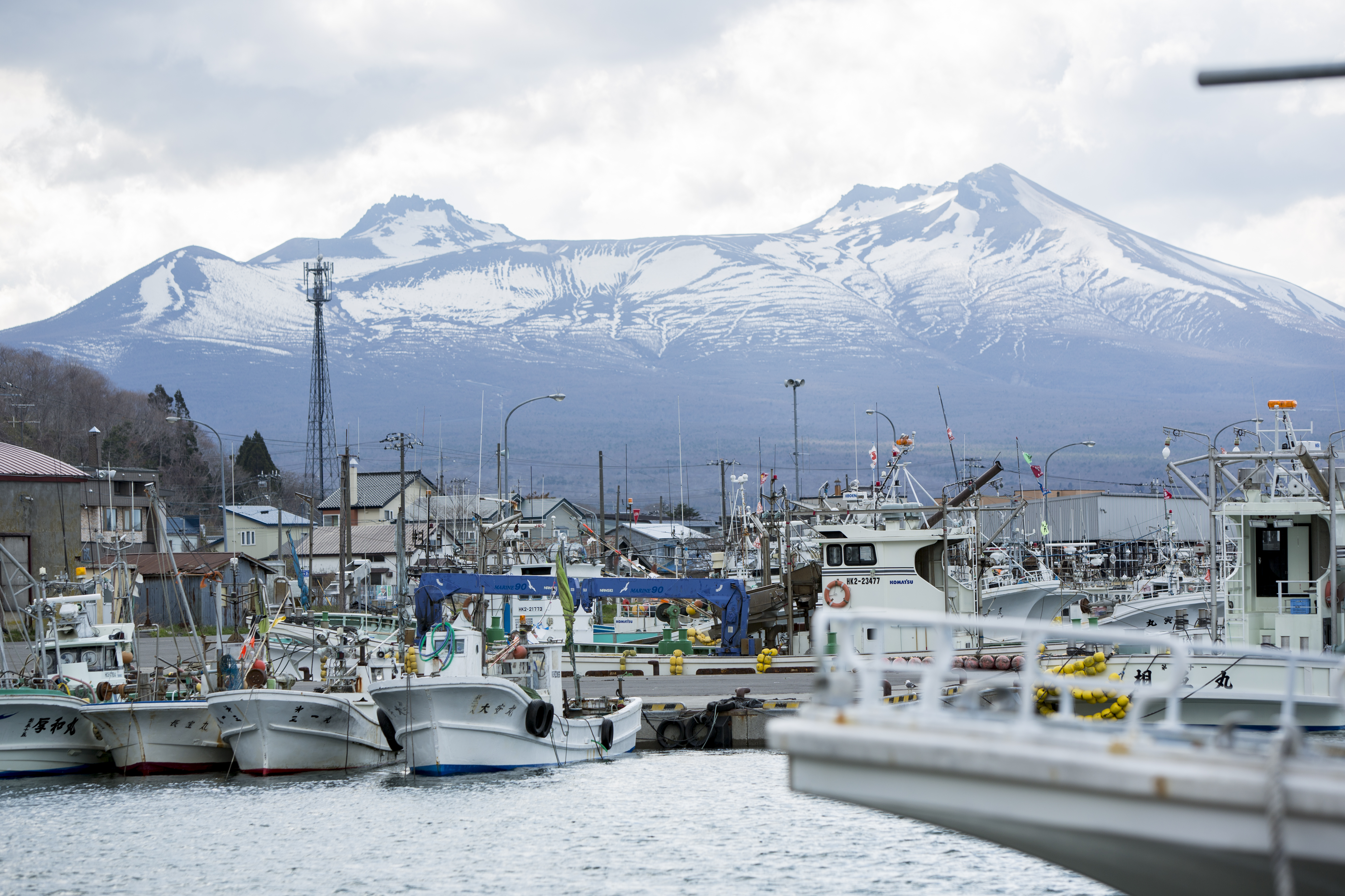 Scallop fishing in Shikabe is in its peak season now!