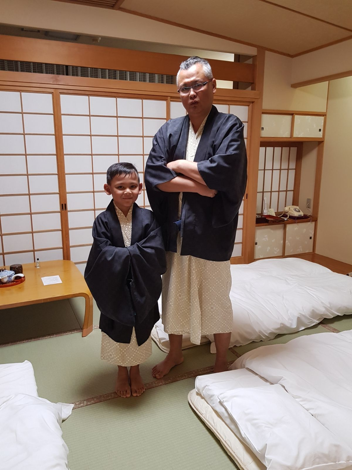 We never experience Japanese hospital, food and culture in its finess.