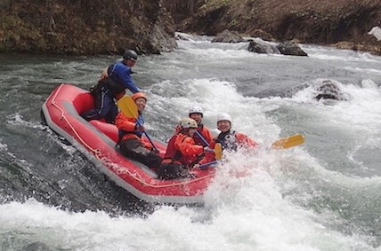 Rafting in the Shisorapuchi River! (Minami Furano Town)