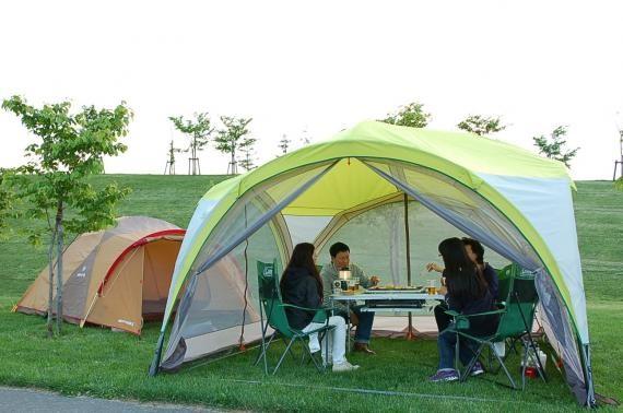 Camping at Nature Park