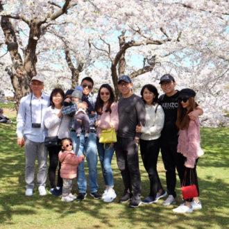 We enjoyed Hokkaido in Cherry Blossom season!